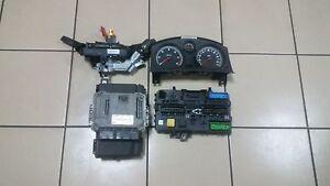 Opel Astra H 1.7cdti LHD engine ECU steuergerat SET 55560810 / 0281012694
