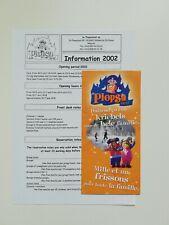 Freizeitpark - Plopsaland - Prospektmaterial - 2002