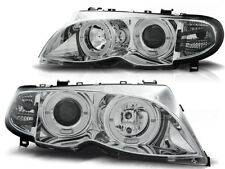 ANELLI Fari LPBM 99 BMW E46 SALOON ESTATE 2001 2002 2003 2004 2005 Chrome