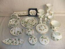 Wild Strawberry British Wedgwood Porcelain & China