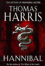 Hannibal by Thomas Harris (Hardback, Heinemann1999) First UK Edition with DJ VGC