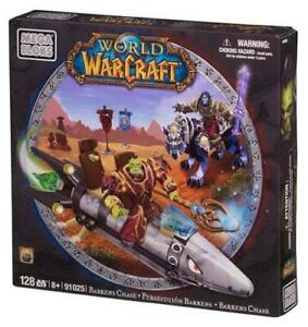 Mega Bloks World Of Warcraft Barrens Chase  - 91025 BRAND NEW IN BOX SEALED