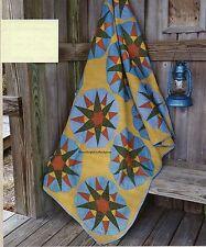 1875 Compass Quilt Pattern Pieced MK