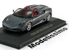 1:43 Ixo Ferrari F430 Spider 2005 darkgrey-metallic