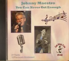 JOHNNY MAESTRO 'You Can Never Get Enough' - 27 Tracks