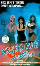 NIGHTMARE SISTERS Movie POSTER 27x40