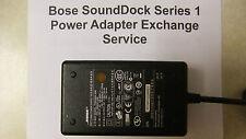 Exchange Service: Black Bose SoundDock Series 1 Power Adapter - 90 Day Guarantee
