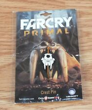 Ubisoft FarCry Primal Game Stop Original Collectible Video Game Crest Pin *NEW*