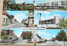 39024 AK Gruß aus Nieder Florstadt um 1972 Spielplatz Siedlungshäuser