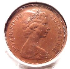 CIRCULATED 1971 NEW PENNY UK COIN!!! (#41615)