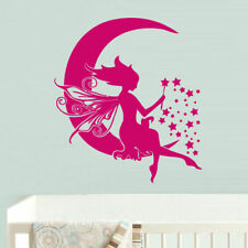 VRS FAIRY Tinkerbell style Wing nymph Metal Wall Decal Car Sticker