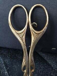 Vintage Art Deco Scissors