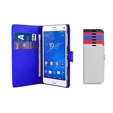 Case For Sony Xperia Z3 Compact Wallet Flip PU Leather Stand Card Slot Cover