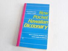 New Pocket Hawaiian Dictionary by Mary Kawena Pukui and Samuel H. Elbert...