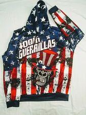 Hoodie American Flag 400lbs Guerillas XL