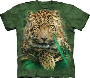 Majestic Leopard Big Cat T Shirt Adult Unisex The Mountain