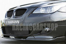 H style PAINTED FRONT LIP SPOILER FOR BMW 5-SERIES E60 M-TECH BUMPER 04-10 B023F
