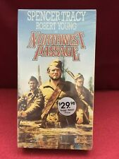 Northwest Passage [VHS] Spencer Tracy Robert Young 1940 factory sealed