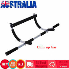 Chin up Bar Top High Quality Portable Door Gym Wall Mount Exercise Doorway DIP