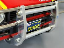 Custom Pair Aluminum Front Bumper Side Bracket Tamiya 1/10 Blazing Blazer Hilux