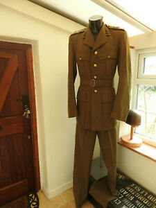 WW2 Military Complete Capt Uniform Royal Engineers Tunic Officers Uniform (5373)