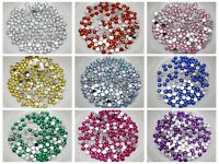 2000 Acrylic Faceted Round Flatback Rhinestone Gems 3mm 12ss Color for Choice