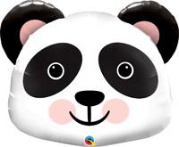 "LARGE FOIL SUPERSHAPE BALLOON PRECIOUS PANDA 31"" BIRTHDAY PARTY SUPPLIES"