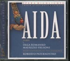 """VERDI """"Aida Highlights"""" NEW & SEALED CD 1st Class Post From The UK"""