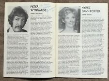 More details for peter wyngarde signed  programme- 'anastasia' cambridge theatre 1976