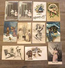 11 CPA FANTAISIE-1900-NOEL