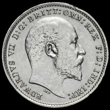 More details for 1904 edward vii silver threepence, scarce