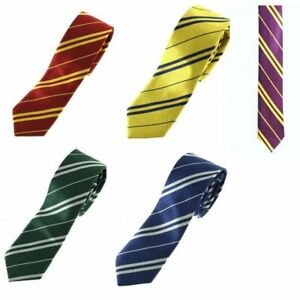 HARRY POTTER STYLE TIES WAND  GLASSES SLYTHERIN GRYFFINDOR FANCY DRESS HALLOWEEN