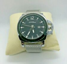 NEW - MEN'S LA BANUS CROWN GUARD WATCH WITH STAINLESS STEEL SHARK MESH STRAP.