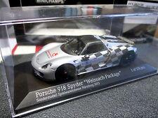1/43 Porsche 918 Spyder Messe-Modell Nürnberg 2015 MINICHAMPS 413 062136 MINT !