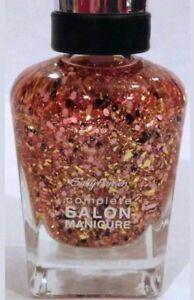 Sally Hansen Complete Salon Manicure Glitter Nail Polish 833 vintage Confetti