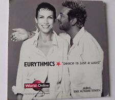 EURYTHMICS PEACE IS JUST A WORD PROMO CD /CD ROM