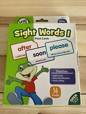 Sight Words 1 Flash Cards 56 Cards from Leap Frog for Grades K-1