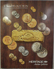 February 4, 5, & 7, 2010 U.S. Coin Auction #1137 Catalog Heritage (A54)