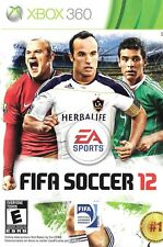 Xbox 360 Game - FIFA Soccer 12 - Complete With Online Pass