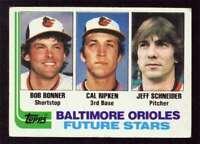 REFRIGERATOR MAGNET of 1982 Topps Cal Ripken Rookie Card Baltimore Orioles