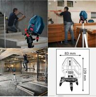 Bosch GLL 5-50X Professional Level Measure 5-Line Laser Self-Leveling Tool_VA