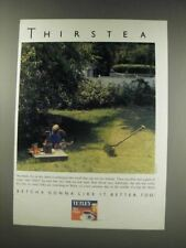 1991 Tetley Tea Ad - Thirstea