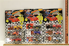 9 Vintage 1991 Racing Champions NASCAR Roaring Racers Diecast No Two Alike NOC