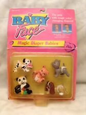 1991 GALOOB BABY FACE MAGIC DIAPER BABIES PETS EDITION #38030