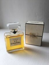 Vintage FACTICE CHANEL No5 Parfum Dummy DISPLAY BOTTLE and box