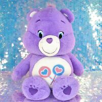 "Care Bears SHARE BEAR Purple Lollipops 20"" Plush Stuffed Animal 2015 BQ015"