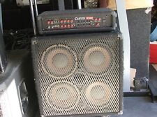 Carvin R1000 Bass Amp with 4x10 cabinet