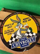 Vintage Chevrolet dealership Porcelain sign