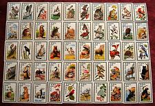Usa, Wildlife Of North America , 50 Cards As Depicted On Postage Stamps Full Set