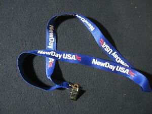 New Day USA Lanyard with Clip - Includes Shipping!